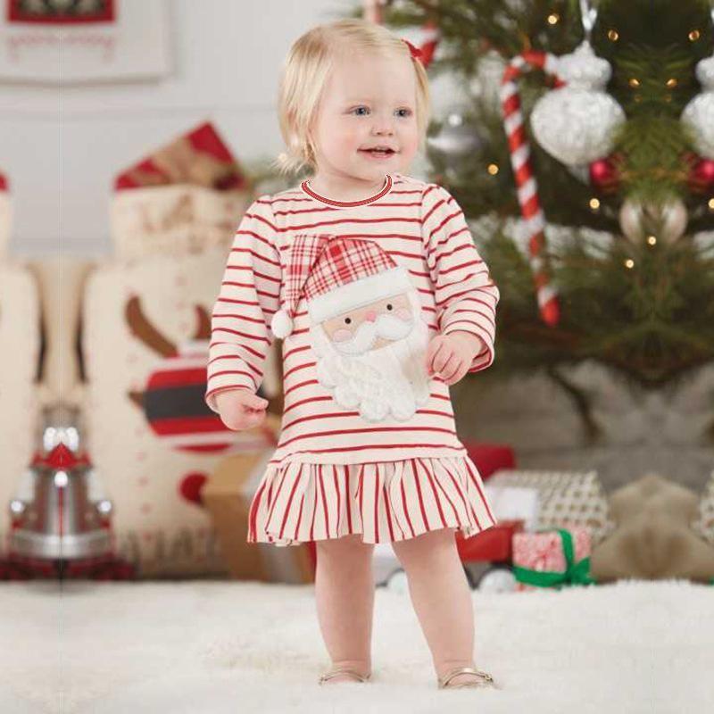 2b41989f530 Baby Toddler's Girl Christmas Santa Dress | Baby Christmas Halloween ...