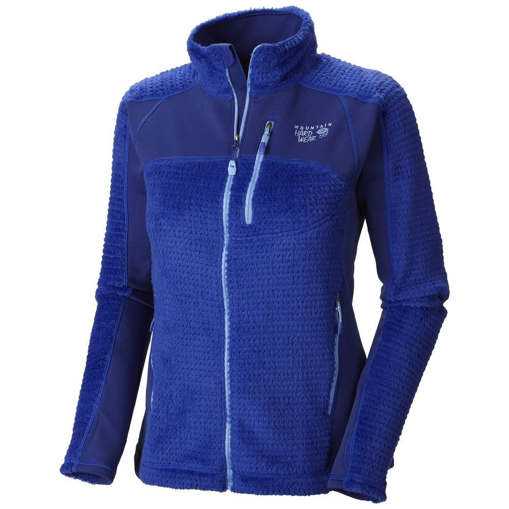 170) MOUNTAIN HARDWEAR WOMENS HOODLESS MONKEY WOMEN GRID FLEECE ...