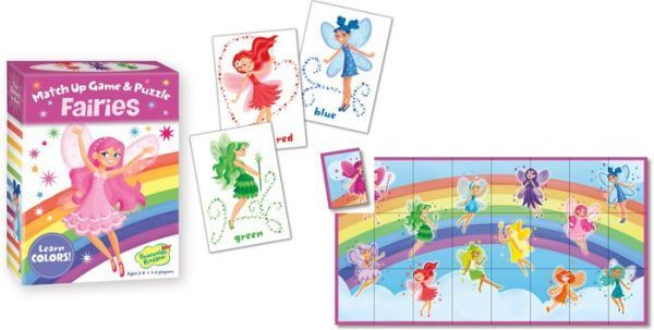 Fairies Match Up Game & Puzzle