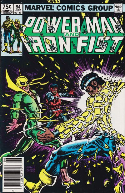 Power Man And Iron Fist 94 By Ernie Chan Iron Fist Comic Marvel Comics