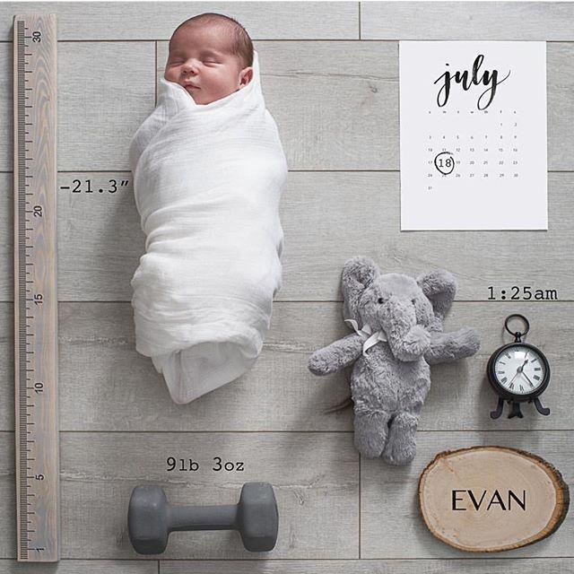 Pin by Lara Veronica on B A B Y S Pinterest – Birth Announcement Pinterest