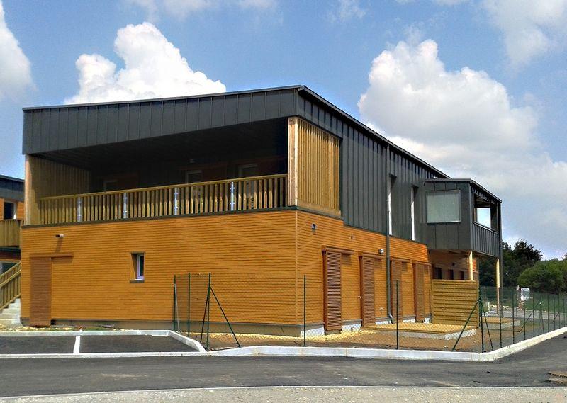 Le parc des c dres biard 86 architecte montarou for Architecte charente
