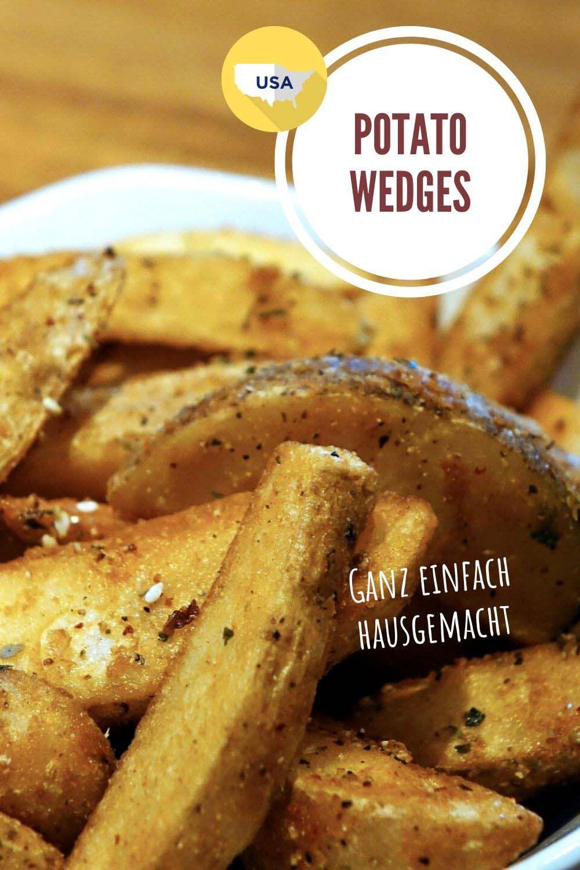 Potato Wedges / Kartoffelecken hausgemacht