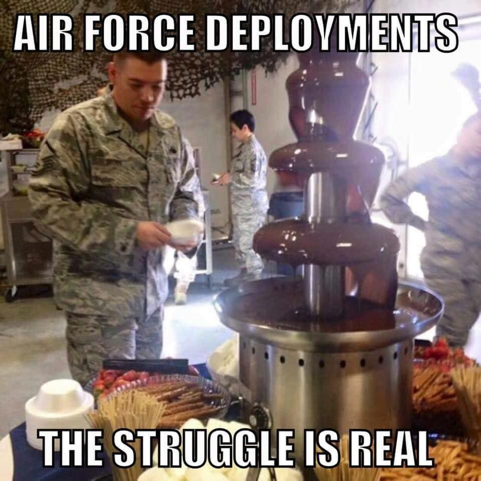The 13 Funniest Military Memes Of The Week We Are The Mighty Military Memes Military Humor Air Force Deployment