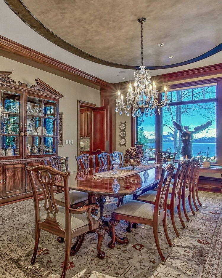 Lake Tahoe Dining Room Set Classy 🌅 550 Sierra Sunset Lane  Lake Tahoe  Boat Buoy Room And House Decorating Inspiration