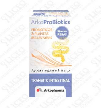 ARKOPROBIOTICS TRANSITO INTESTINAL 80 COMP