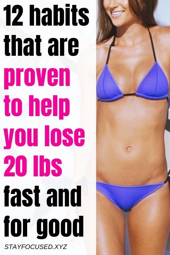 12 habits that are proven to make you lose weight for good | weight loss diets | best weight loss di...