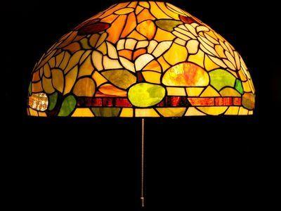 How To Make A Mosaic Lampshade Thumbnail Mosaic Lamp Mosaic Lamp Shades