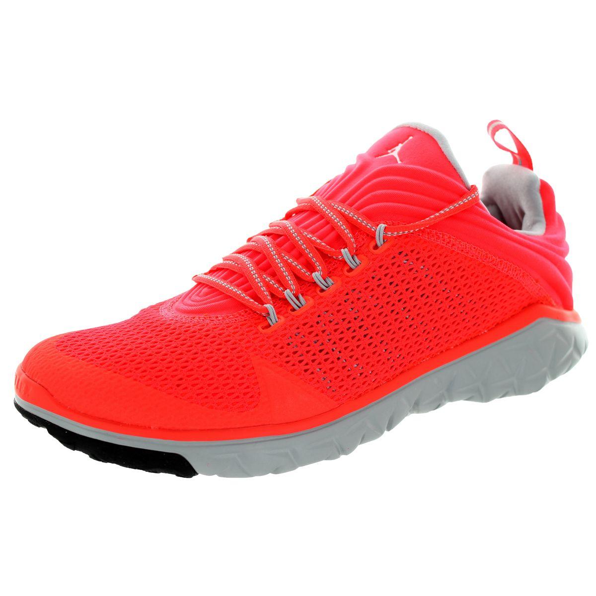 023e71feab5d Nike Jordan Men s Jordan Flight Flex Trainer Infrared 23 White Wolf Grey  Training Shoe