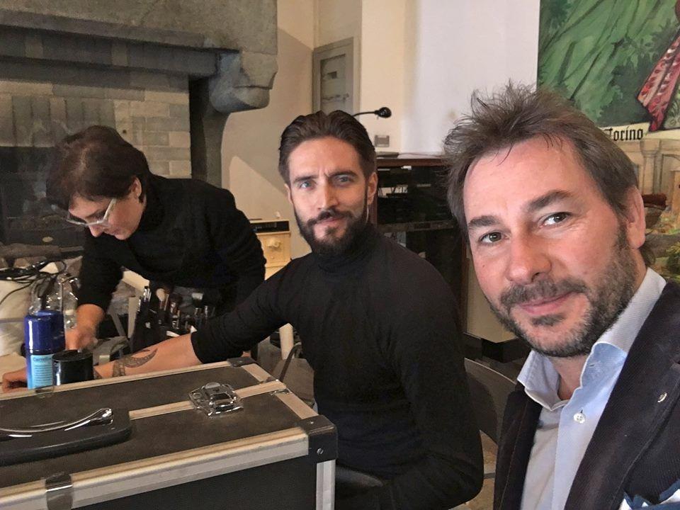 …SUL SET con ALEX BELLI  l'attore di Cento Vetrine, poi finalista de L'Isola dei famosi la mia INTERVISTA ora su: http://scaramanzievip.blogspot.it/