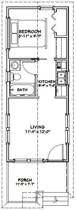12x30 Tiny House 3 Fashionable Design Ideas 12 X 30 Plans