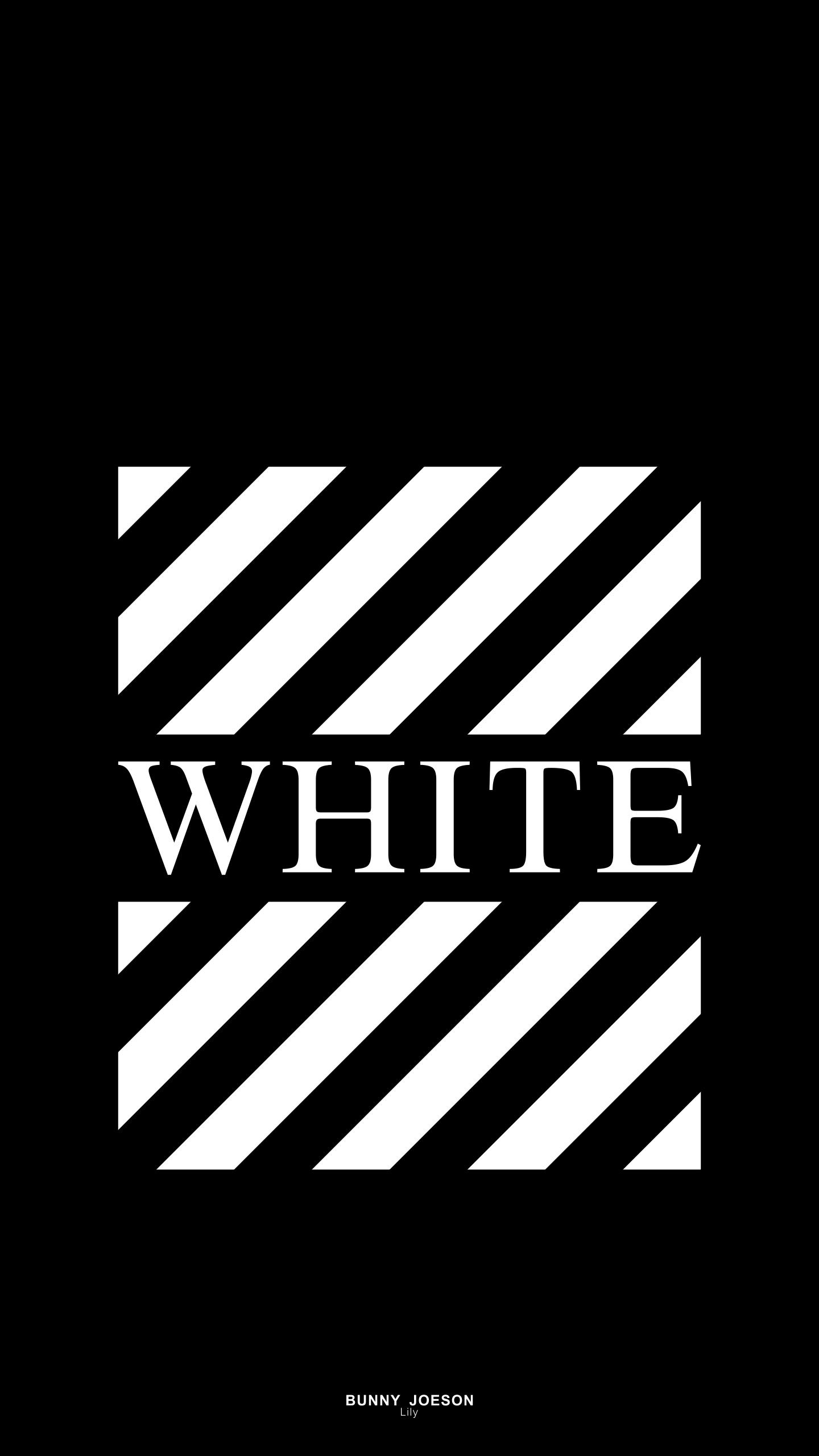 白抜きwhiteのOFF-WHITE