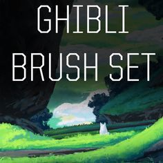 Ghibli Brush Set Free Mathias Zamecki On Gumroad Digital Art