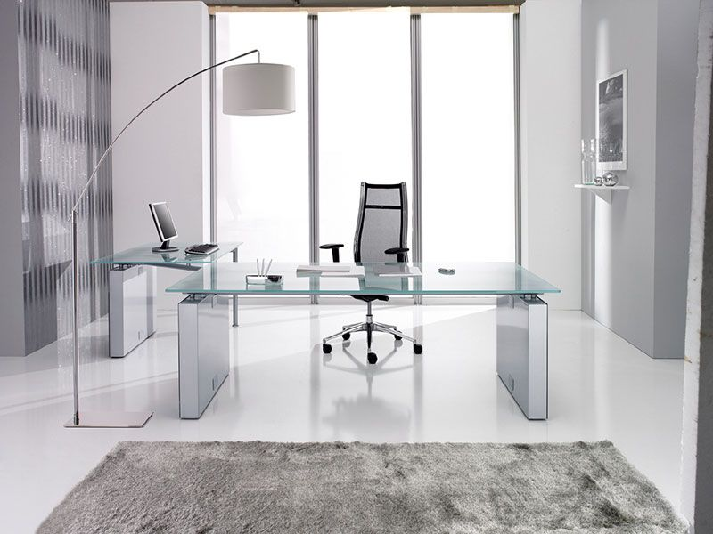 Glass Desks Glass Office Furniture Glass Desk Office Glass