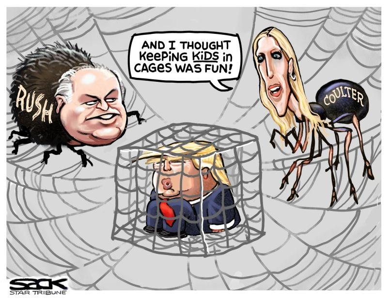 Steve Sack Cartoon January 2019 Not Fun For The Kids Or Us