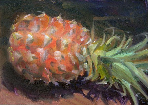 Susan Costa Welcome Pineapple