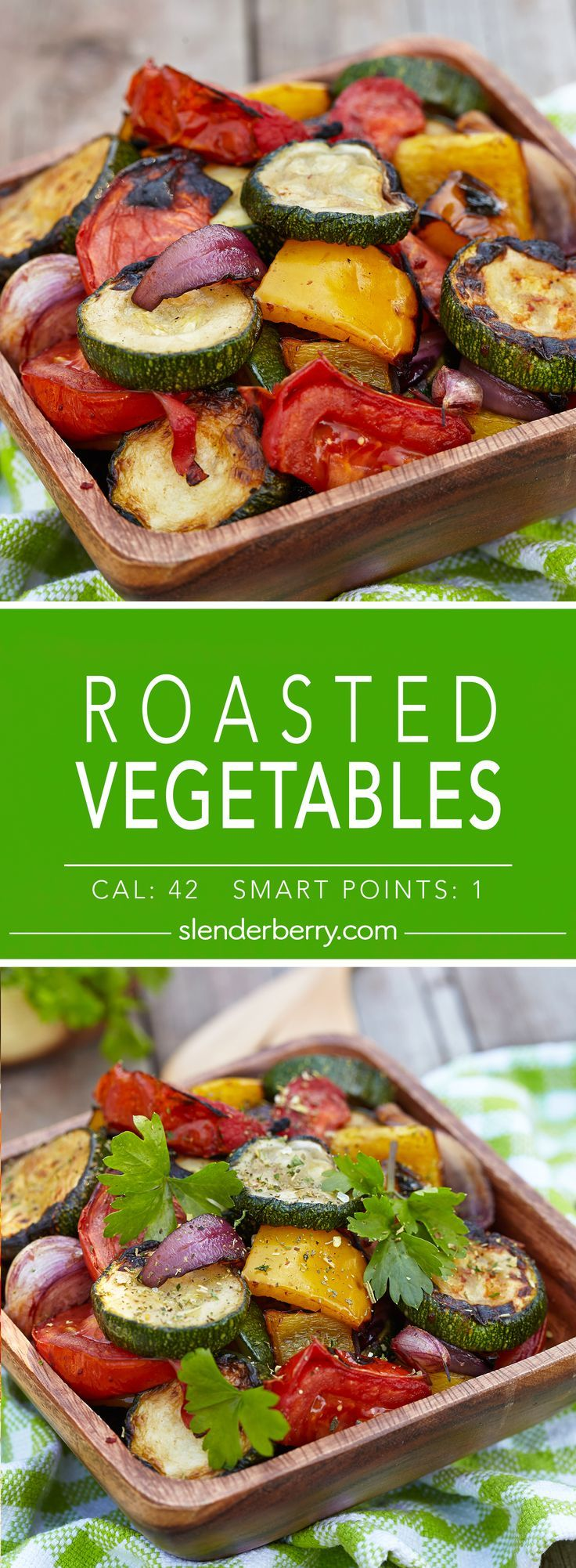 Roasted Vegetables - Slenderberry
