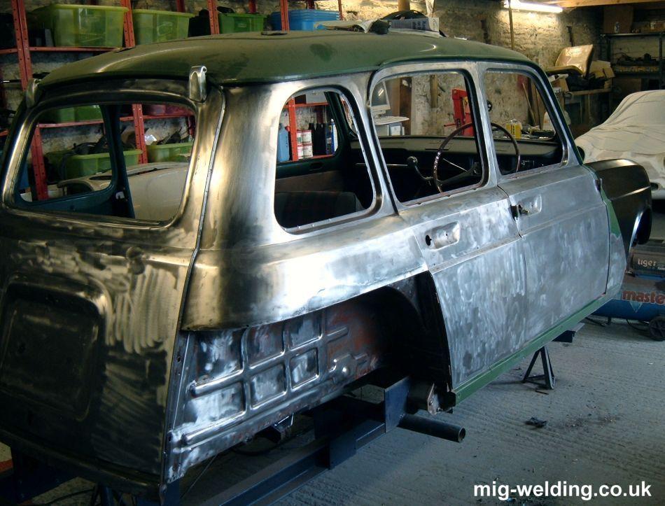 Car halfway to bare metal | TRAILER | Welding equipment