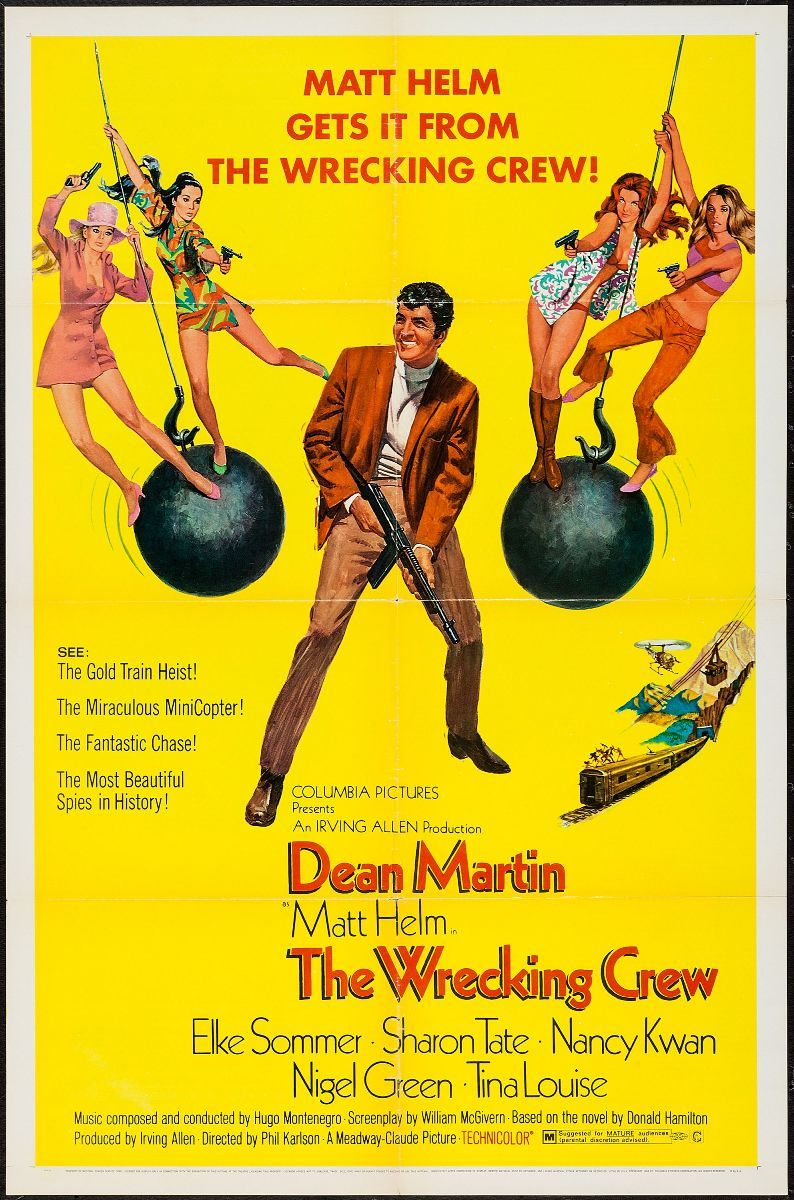 The Wrecking Crew | Elke Sommer and Cornell Borchers & Marisa Mell ...