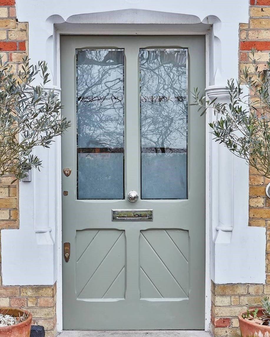 Farrow Ball Front Door Paint Colors Treron No 292 Painted Front Doors House Paint Exterior Front Door Paint Colors