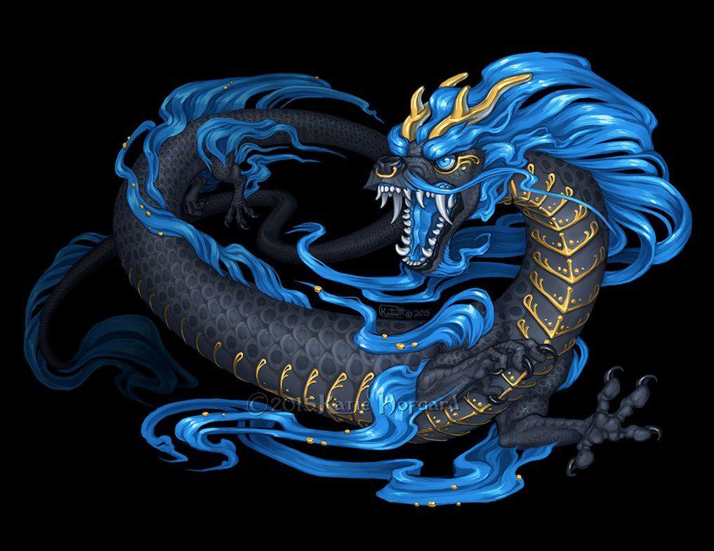 Kyu Azure Dragon by Shadow-Wolf on DeviantArt | Waypoint ...