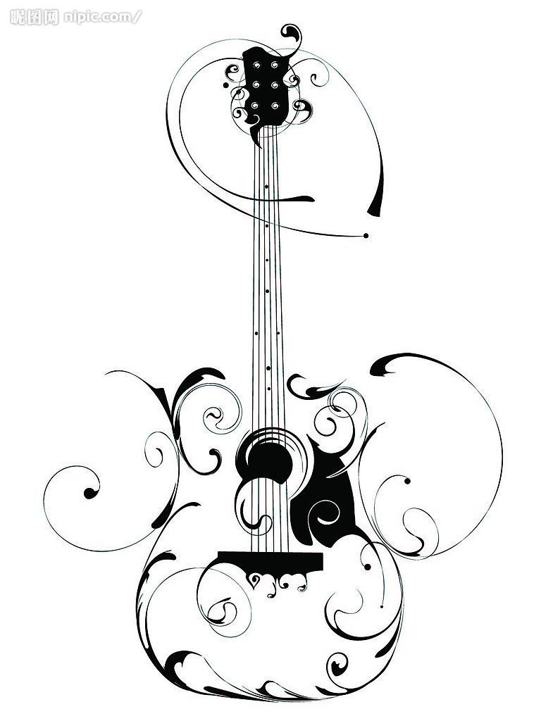 How To Choose An Acoustic Guitar | Image vector, Clip art and ...