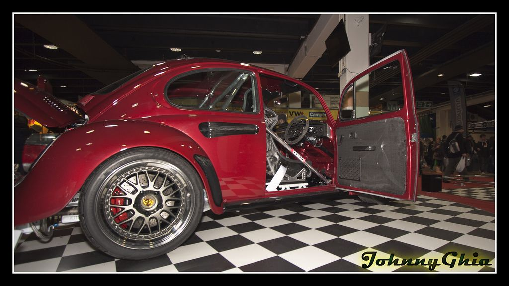 Dave Forder's German Look bug VolksWorld Show 2013 Top 20 prize ...