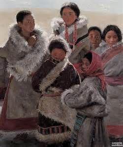 2005 TIBETAN CHILDREN, Xu Weixin (b1958, Urumqi, Xinijiang Proovince, China)