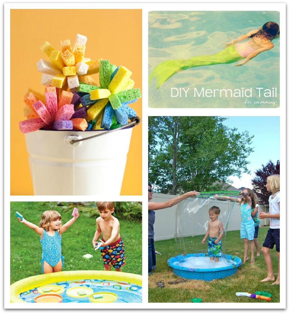 6 DIY Pool Games for Kids Bedroom ideas Pinterest
