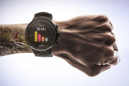 Premium Multisport Gps Watch With Color Touch Screen And Wrist Heart Rate Suunto Gps Watch Spartan Sports
