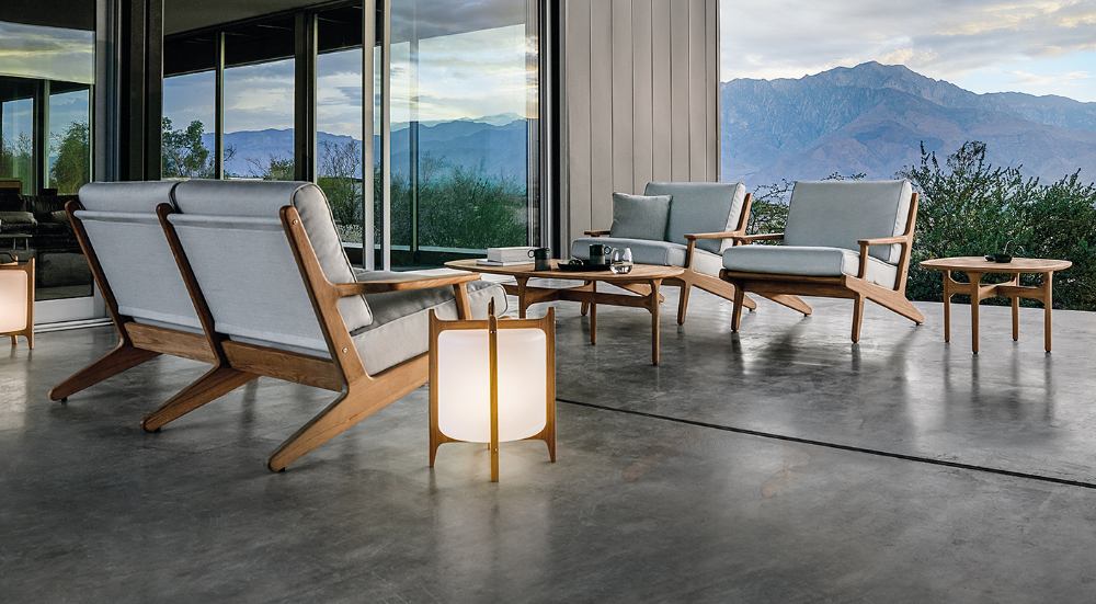 Gloster Bay Collection Modern Luxury Outdoor Furniture Gloster Gloster Outdoor Furniture Modern Outdoor Furniture Luxury Outdoor Furniture