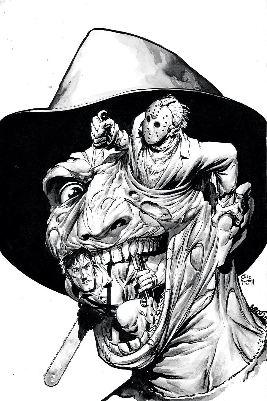 Hmmm This Would Make An Awesome Tattoo Tatuagens Terror