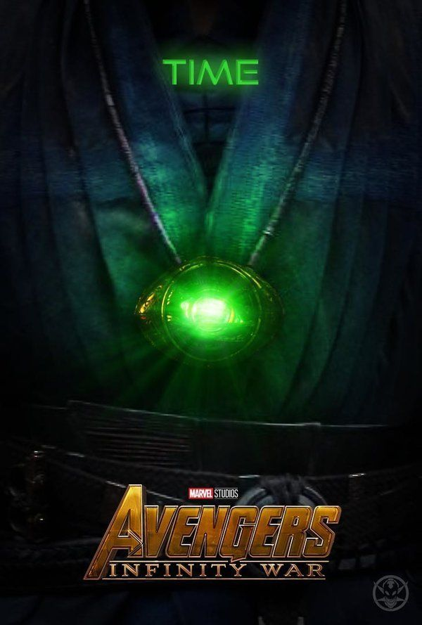 Infinity War Poster With Stones