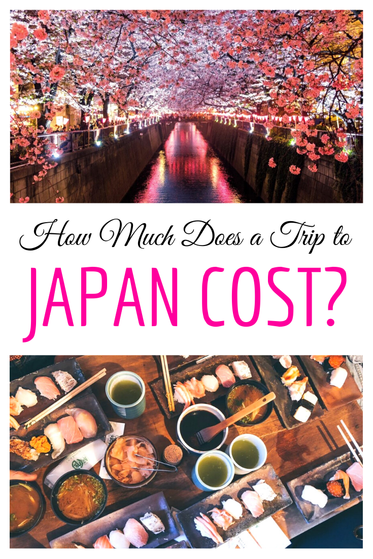 How Much Does A Trip To Japan Cost Just A Pack Japan Travel Japan Holidays Japan Travel Tips