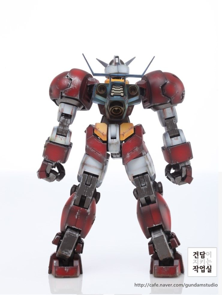 [MG] Gundam AGE-1 TITUS full coloring + weathering by Smong guitar -Master modeler's community Signaturedition.com