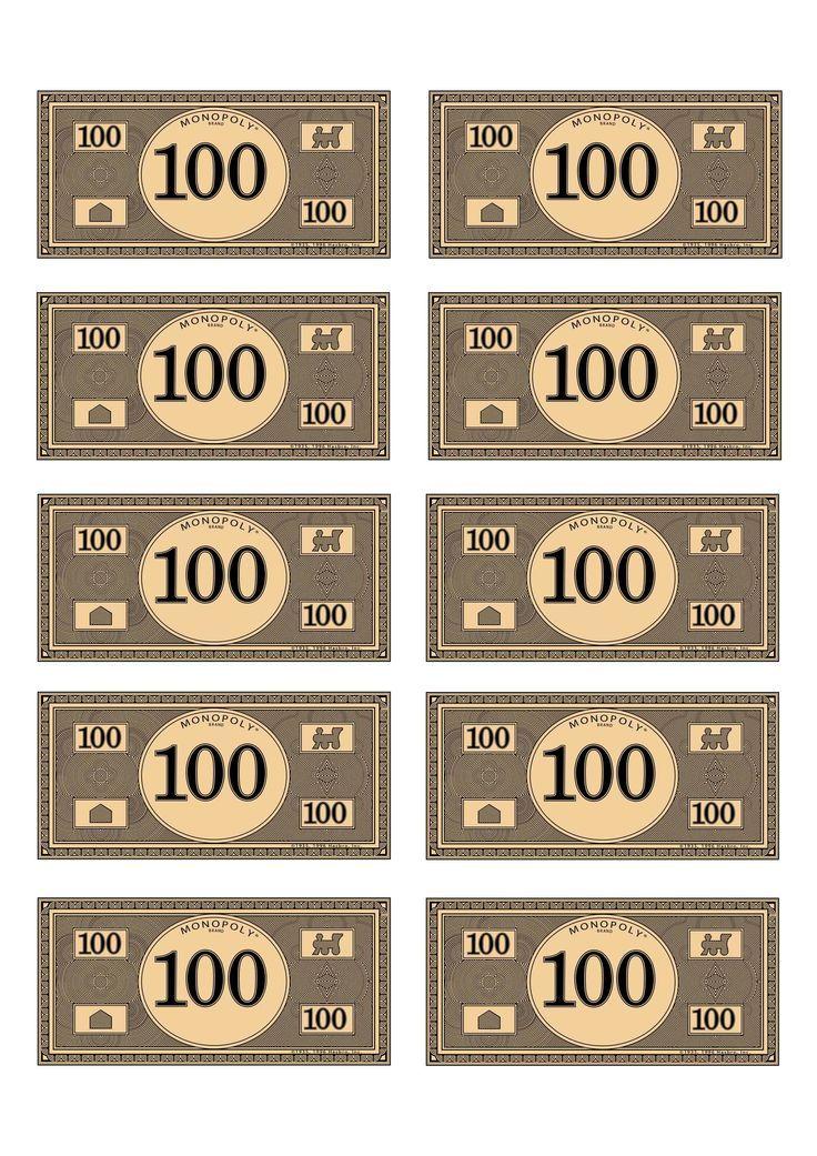 Monopoly Geld Drucken Pdf : monopoly, drucken, Monopoly, Money, Printable, Picterest, Template,, Money,, Printables