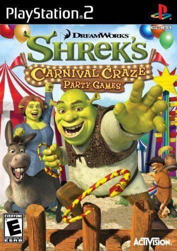 Shrek S Carnival Craze Party Games Playstation 2 Price 8 75