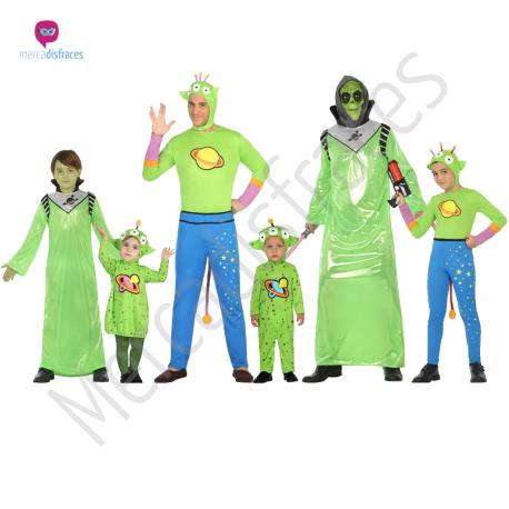 1fcde68ff Disfraz #Alien #Bebe para niña #disfraces para #grupos y #comparsas ...
