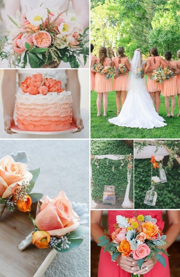 How To Pick Wedding Colors 4 Color Palettes For The Spring