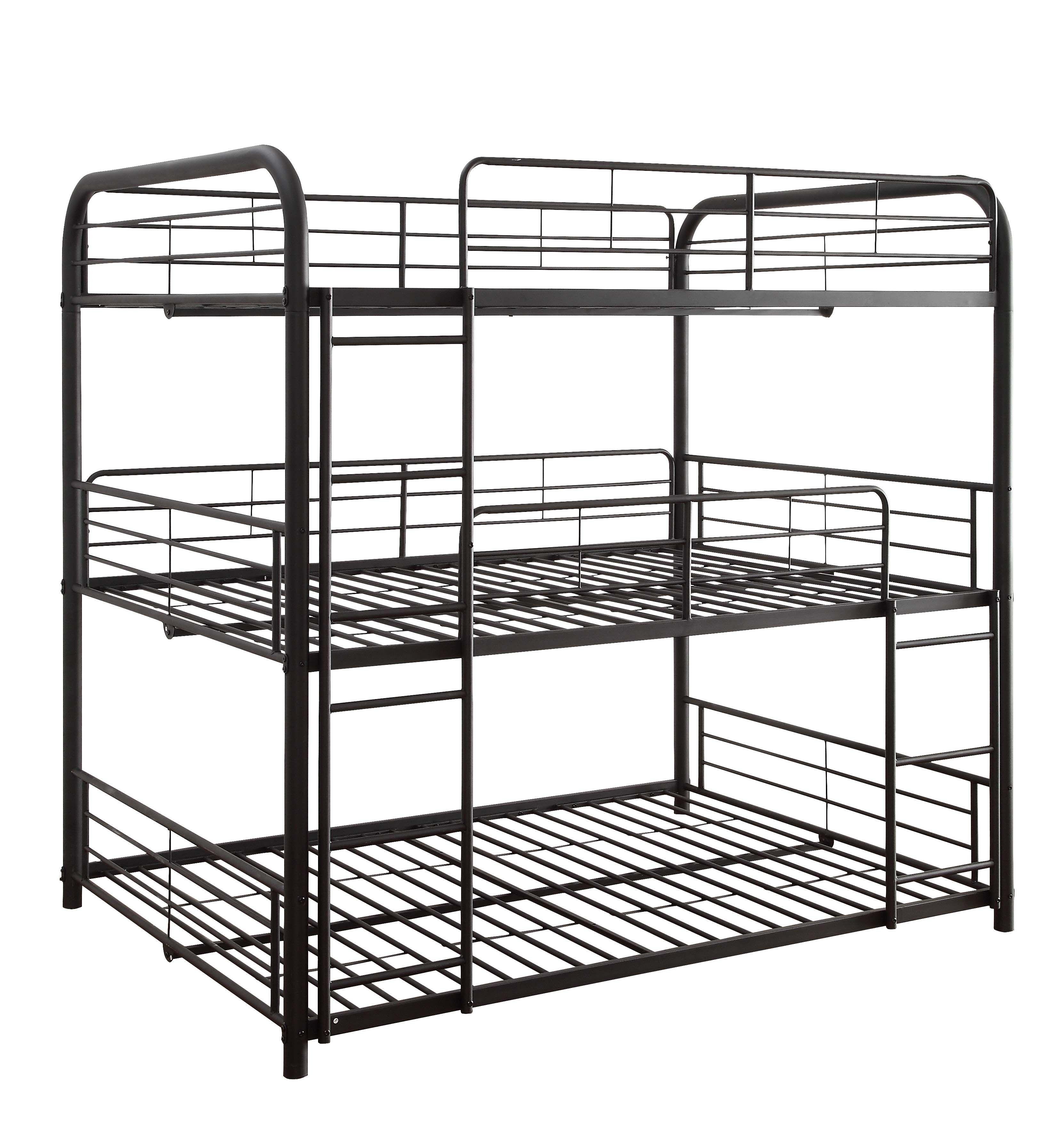 Home Triple bunk bed, Bunk beds, Bunk beds with stairs