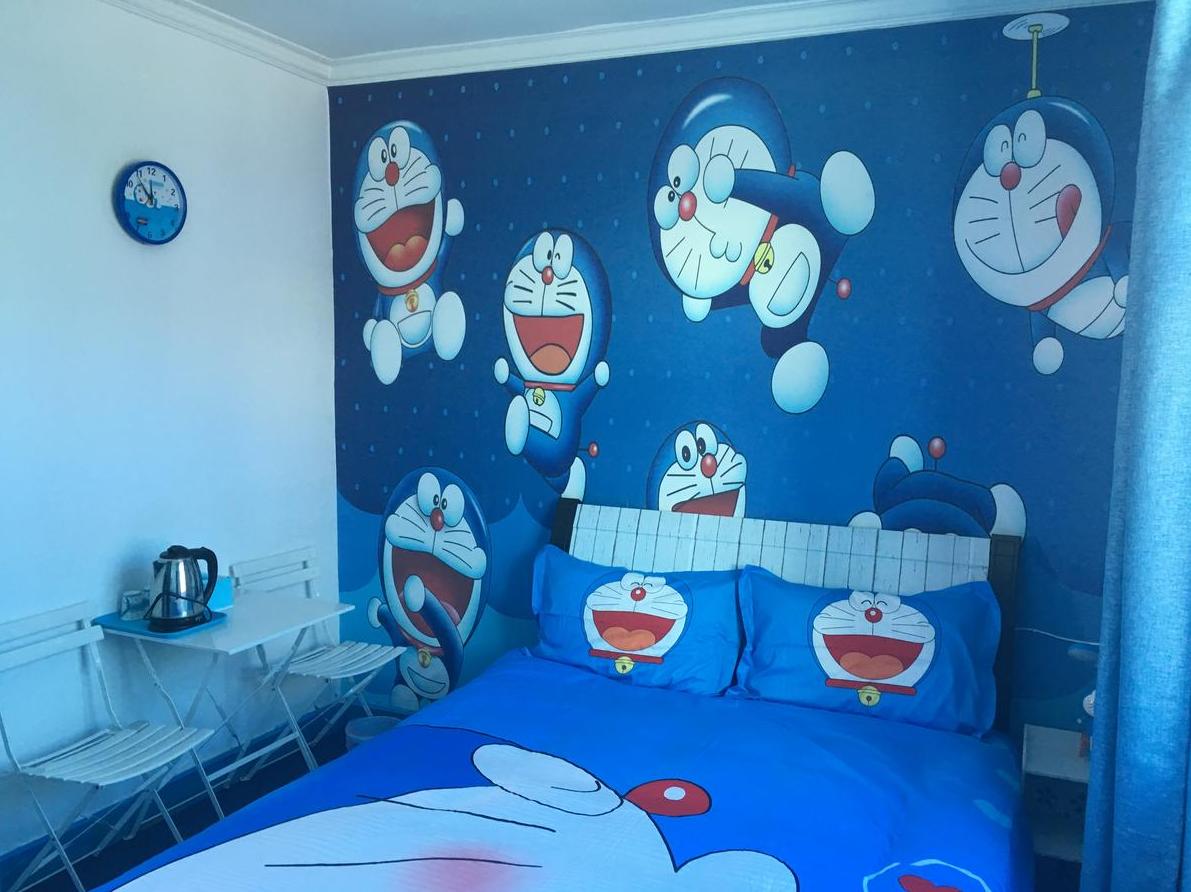 87 Gambar Kamar Motif Doraemon Paling Keren