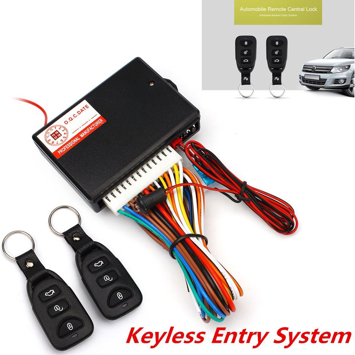 Awesome Great Car Autos Alarm Door Lock Unlock Vehicle Keyless Entry