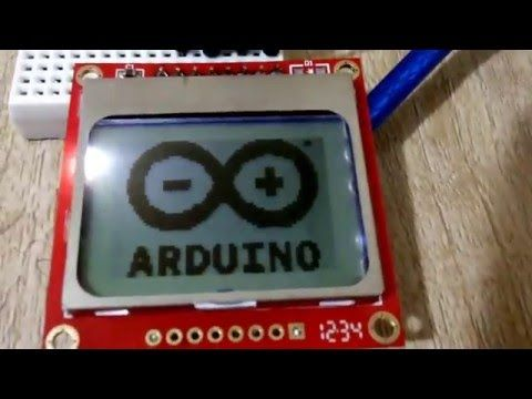 How to Use Nokia 5110 LCD With Arduino? - All