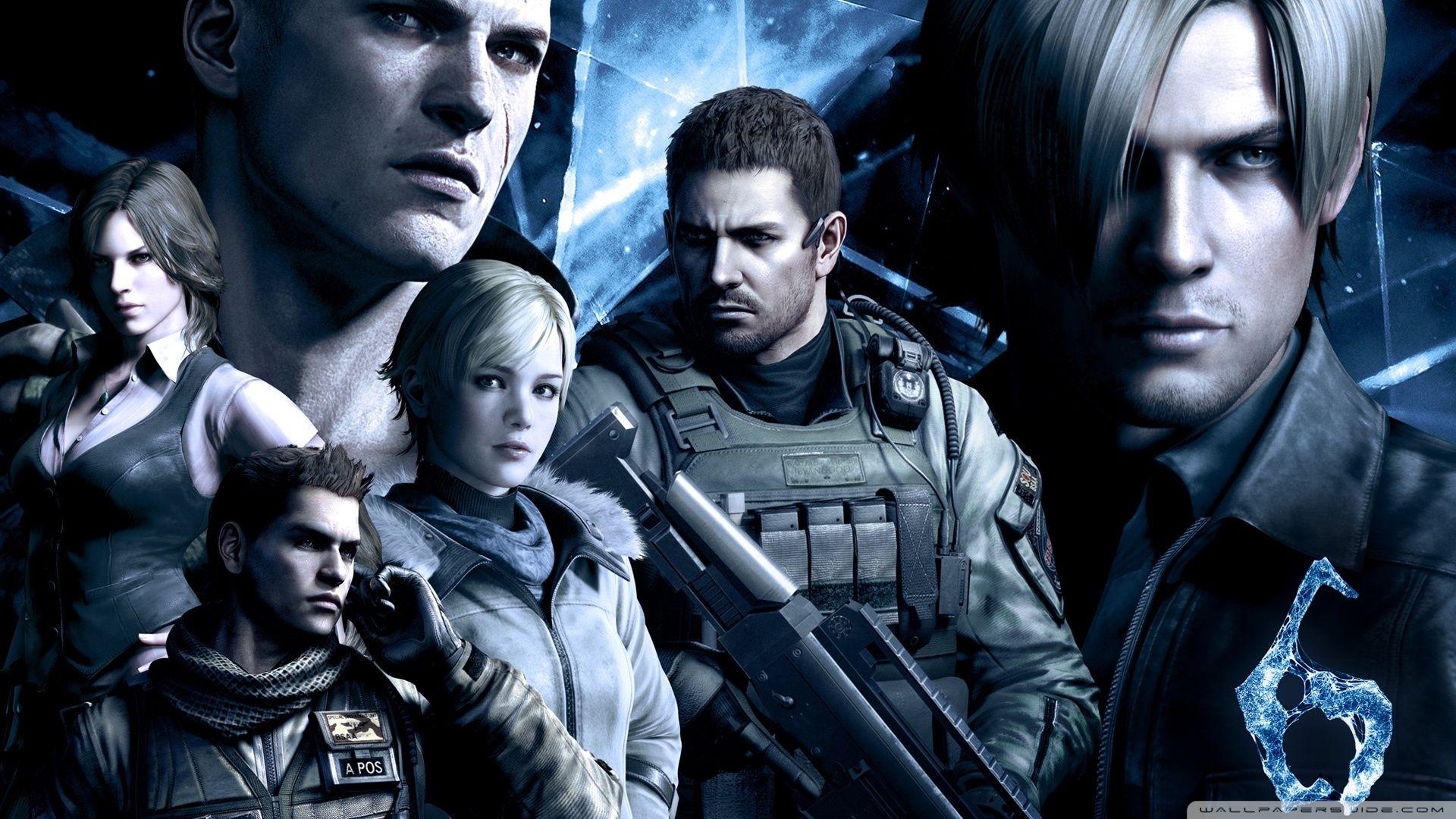 Hd wallpaper resident evil - Resident Evil 6 Characters Hd Desktop Wallpaper High Definition