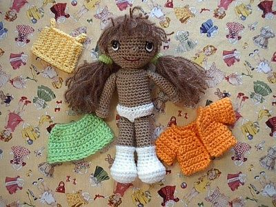 Amigurumi Patterns Doll Free : Basic doll free crochet amigurumi pattern crochet