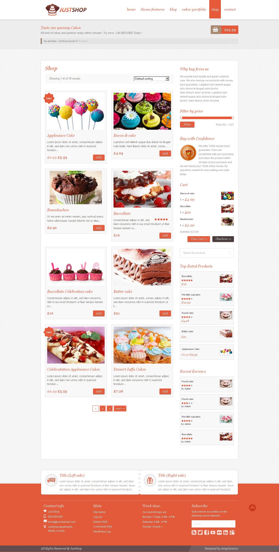 Justshop - Premium Beautiful WooCommerce Theme - #wordpress #theme ...