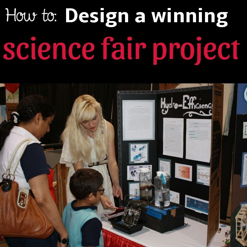 Science Design Project: How To Design A Winning Science Fair Project