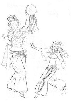 Amazon com: Hathaya's Harem Pants Pattern (Belly Dance