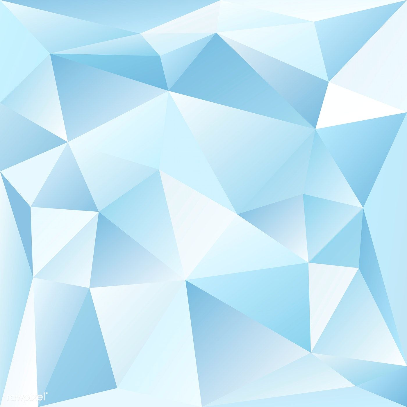 Blue And White Crystal Textured Background Free Image By