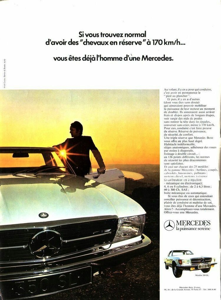 R107 Mercedes Benz Sl Class The Best Or Nothing The One And Only The Ambitious Oldtimers Mercedes